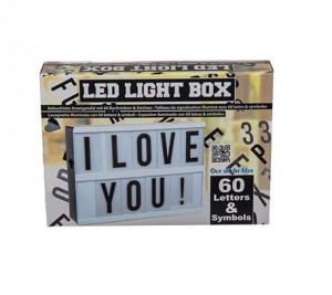 Lampka tablica Led LIGHTBOX 22cm
