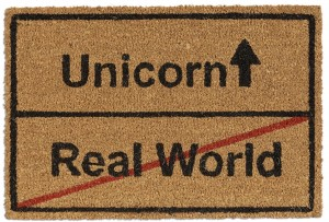 Wycieraczka Unicorn Real World